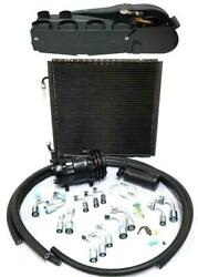 Gearhead Super Air Conditioning Ac Heat Defrost Kit + Fittings Hoses Compressor