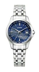 Citizen Watch Exceed Pair Milky Way Limited Model Ec1120-59m Ladies Silver