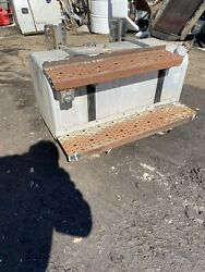 Freightliner M2 Fuel Tank With Straps And Steps