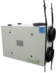 Nu-air - Nu205 Windsor Series Residential Hrv, Energy Star For Homes Up To 5,000