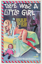 There Was A Little Girl One Sheet Movie Poster 28x42 Sexploitation 1973