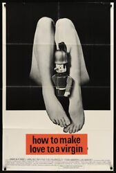 Toys Are Not For Children One Sheet Movie Poster 27x41 1972 Sexploitation Rare