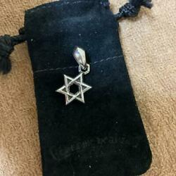 Chrome Hearts Authentic Star Of David David Small Charm Top Accessories