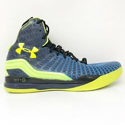 Under Armour Mens Clutchfit Drive 1246931 408 Blue Black Basketball Shoes Sz 13 $60.74