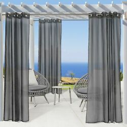 No-see-um Insect Repellent Outdoor Curtain Panel - Mosquito Net Curtain
