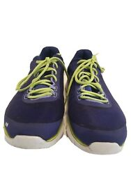 Ryka 6.5m Women's Dynamic2 Electric Blue Neon Green Laces Athletic Sneakers Shoe