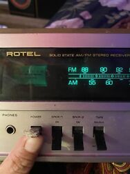 Vintage Rotel Solid State Am/fm Stereo Receiver Rx-150a