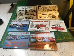 East Penn Chevy Club, West End And Carbon County Classic Car Show Dash Plaques
