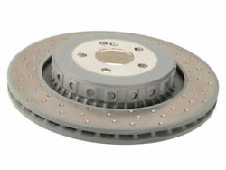 Rear Brake Rotor For 07-14 Mercedes S65 Amg S63 Cl63 Cl65 Tr36d7 Oe Replacement