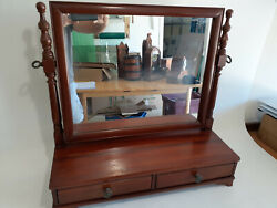 Beautiful H.willet Furniture Cherrywood Dressing Mirror From Late 1940and039s