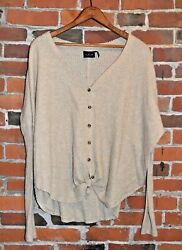 Out from Under for Urban Outfitters Wallf Knit Blouse Size S $17.00
