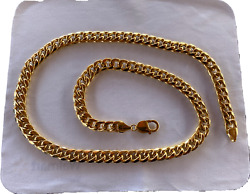 Nwt 14k Yellow Gold 24in Hollow Cuban Chain - 53.20 Grams - 9.3mm Width