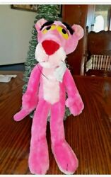 Vintage Large Stuffed Pink Panther . Collectible Or Toy