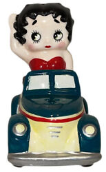 Vintage Betty Boop Car Salt And Pepper Set Gift Collectibles 1994 Shakers Rare