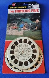 Scarce The Famous Five Bd-1741 British 70s Tv Show View-master Reels Pack Opened
