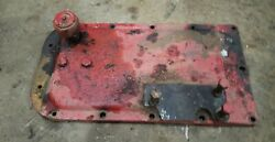 Massey Harris 44 Special Tractor Rear Lift Cylinder Cast Rearend Cover Mount