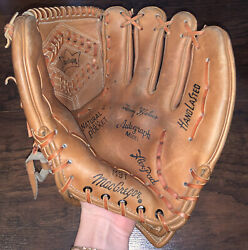 Macgregor M9t Tommy Helms Autograph Model Baseball Glove Hand Lasted Rht
