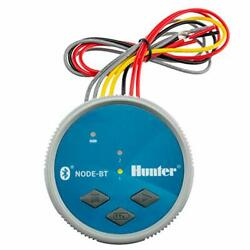 Spw Hunter Node-bt-200 Two Zone Bluetooth Enabled Irrigation Controller 9v Dual