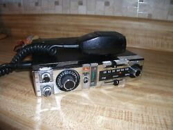 Vintage Audiovox Mcb2000 23 Channel Transceiver With Fm Mpx-ic Reciever Cb W/mic