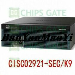 Fedex Dhl Used Cisco Cisco2921-sec/k9 Tested In Good Condition