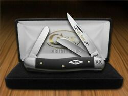 Case Xx No. 1 Son Stockman Knife Black Delrin 1/500 Stainless Pocket Knives