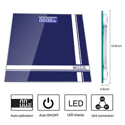 Digital Body Weight Scale With Backlit Lcd Display Screen Max400lbs/180kg