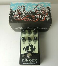 Earthquaker Devices Afterneath Reverb Effects Pedal Free Usa Shipping