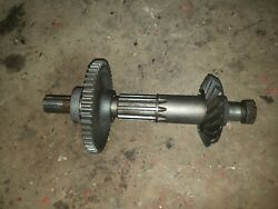 Massey Harris 44 Special Tractor Transmission Top Drive Gear Gears Drive Shaft