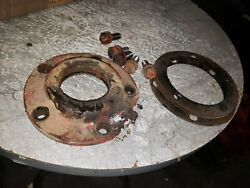 Massey Harris 44 Special Tractor Rearend Axle Housing Bearing Cap Shims Bolts