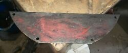 Massey Harris 44 Special Tractor Engine Flywheel Inspection Cover Oem Part