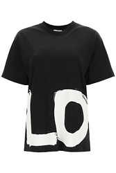 New Carrick Oversized T-shirt With Love Print 8037302 Black Authentic N