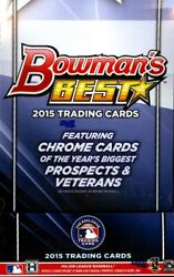2015 Bowmanand039s Best Baseball Hobby 8 Box Case Blowout Cards