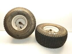 Mtd Huskee 15.5hp/42 Cut Tractor Carlisle 15x6.00-9 Front Tires And Rims