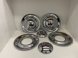 Vintage Nos Chevy Chevrolet Full Disc Hupcaps