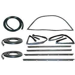 Sweep Belt And Glass Run Window Channel And Door Seal Kit For 83-93 Chevy S10