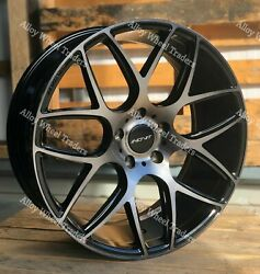 Alloy Wheels And Tyres 20 Thrust For Vw T5 T6 T28 T30 T32 Van Minibus Sport Bm