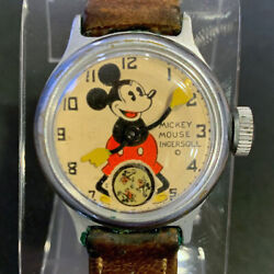 Mickey Mouse 1933 Ingersoll Chicago Worlds Fair 1933 1 First Watch Running