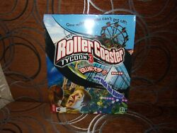 Rollercoaster Tycoon 3 - Chinese Big Box Edition Pc New And Sealed