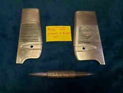 Original Mills Left And Right Wings And Bumper For Hi Top Mills Antique Slot Machine
