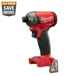 18-volt Lithium-ion Brushless Cordless 1/4 In. Hex Impact Driver Tool-only