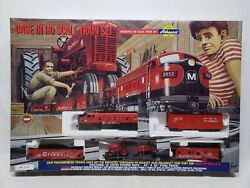 1999 Athearn Case Ih Ho Scale Train Set Sealed In Box Locomotive Cars And Track