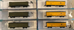 N Scale Roundhouse Great Northern Gn Western Fruit Express Reefer Lot Runner Set