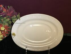 Lenox Courtyard Platinum Gravy/sauce Boat Stand Only New Usa Free Shipping