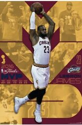 Lebron James 2016 Cleveland Cavaliers Wall Poster Nba Finals Mvp 24x36 New