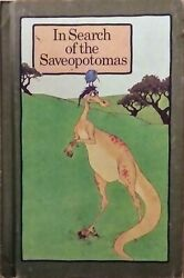 1974 In Search Of The Saveopotomas Hardcover Book A Serendipity Book Rare