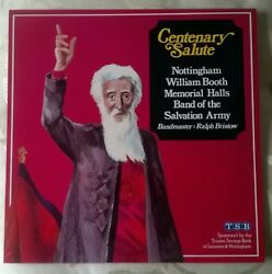 Nottingham Booth Band Of The Salvation Army Centenary Salute 1980 Sps 008 Lp