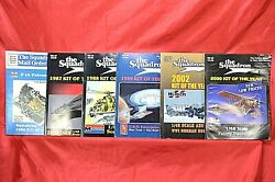 The Squadron 1980's - 2000's Toy Model Kit Mail Order Catalogs, 6 Catalogs Total