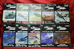 The Squadron 1990's Toy Model Kit Mail Order Catalogs Complete Decade 10 Issues