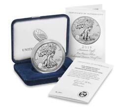 American Eagle 2019 One Ounce Silver Enhanced Reversed Proof Coin Local Pick Up