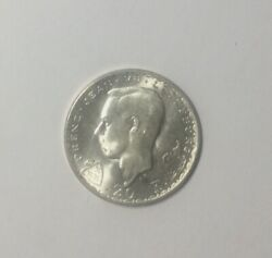 1946 Luxembourg 20francs Silver John The Blind Nice Sharp Bu World Silver Coin
